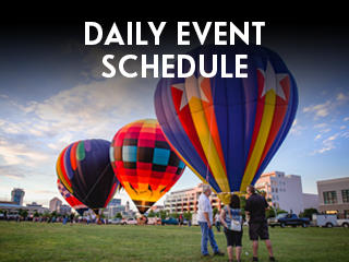 Riverfest Daily Event Schedule Widget