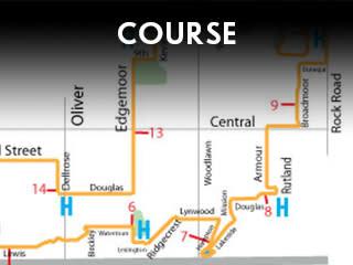 Prairie Fire Marathon Course Widget