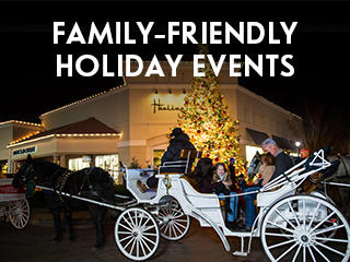 Family-friendly holiday events, carriage rides in Wichita