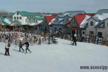 Snowboarding in manitoba