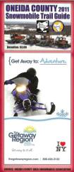 2011 Oneida County Snowmobile Trail Guide — Now available