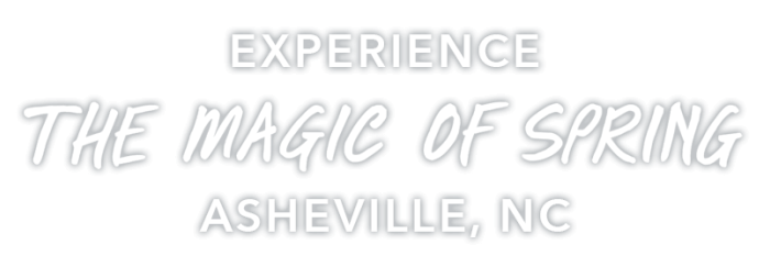 Magic of Spring in Asheville Graphic