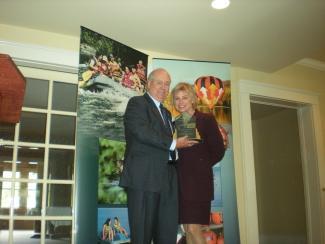 Laurie McEvoy, Gail V. Sterrett Marketing Award Winner