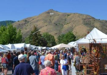 Golden Fine Arts Festival Crowd