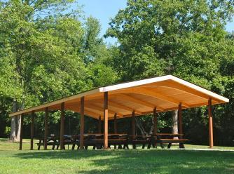 Sodalis Nature Park picnic shelter