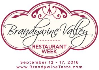 Brandywine Valley Restaurant Week Logo