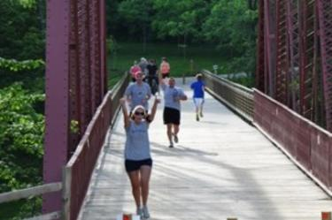 Spring weather makes us all want to get outside and get active. Take advantage of the many organized walks and runs this season.