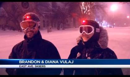 Brandon & Diana Vulaj-East Ave Skiers
