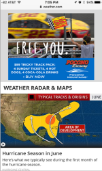 2017 Summer Marketing Campaign -  Online - Weather.com - Pocono Raceway