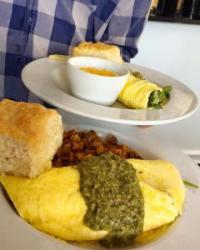 Fuel up for a long ride at Mama's Boy in Athens. Photo courtesy Mama's Boy, Facebook.