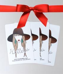 Hallelu gift card ribbon