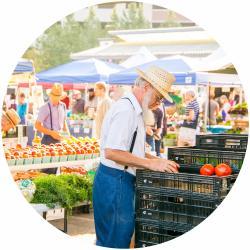 Farmers Market Circle Thumbnail