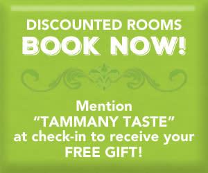Tammany Taste discount room button