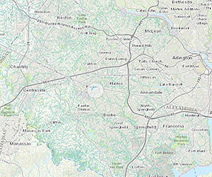 GIS Map of Fairfax County