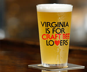 Virginia is for Craft Beer Lovers pint glass