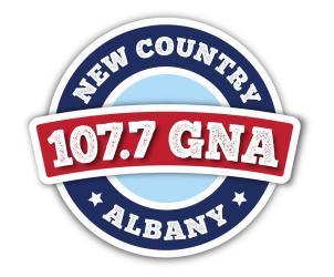 107.7 WGNA logo