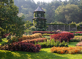 Mohonk Garden in the Summer time