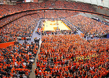 The Carrier Dome at Syracuse University - Photo Courteys of Carrier Dome