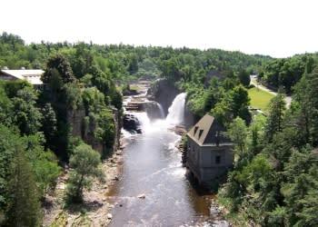 Ausable Chasm Falls_Ausable Chasm - Photo by Adirondack Coast Visitors Bureau