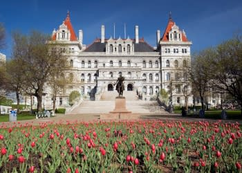 NYS Capitol - Photo Courtesy of Capital- Saratoga Tourism, Inc.