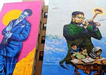 Dizzy Gillespie Mural