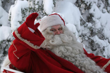 Make sure to visit Santa Claus before he heads back to the North Pole.