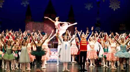 The nutcracker at Abbey Theater