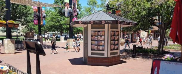 Downtown Boulder Visitor Kiosk