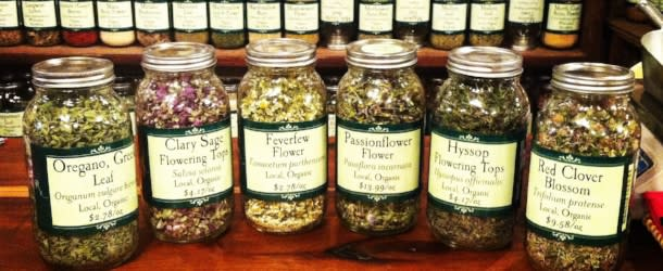 Products Available at Rebecca's Apothecary