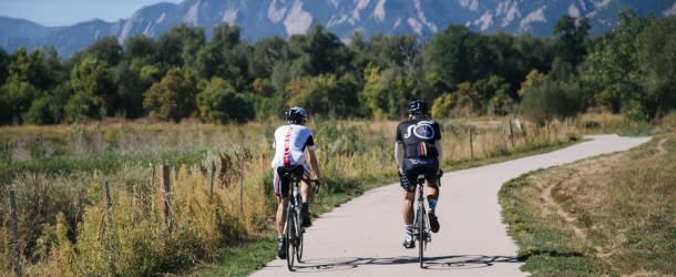 Biking Boulder