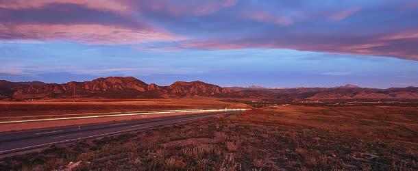 Highway 36 to Boulder