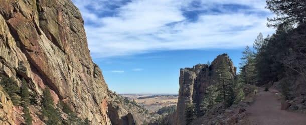 Rattlesnake Gulch Eldorado Canyon State Park