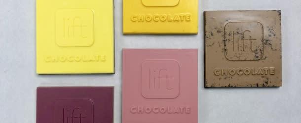 Lift Chocolate Logo's