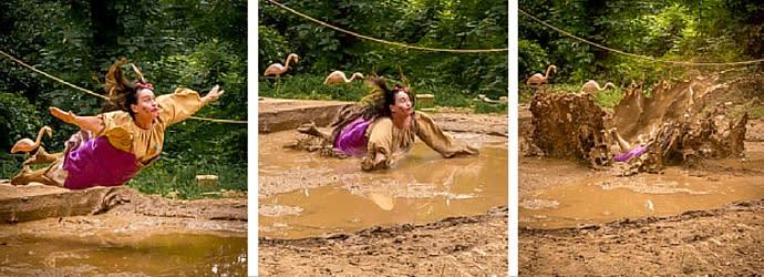 Mud Pit at the Pennsylvania Renaissance Faire