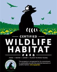 Image of Certified Wildlife Habitat logo