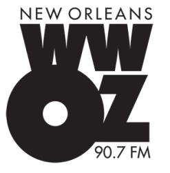 WWOZ Logo - 90.7 FM