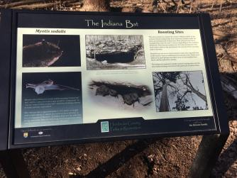 Informational and interesting signs along the trails!