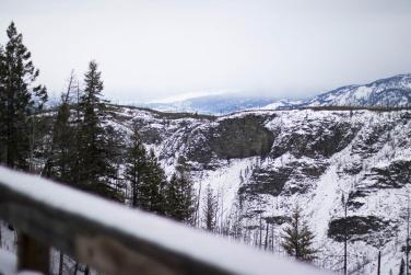 Myra Trestle Winter View