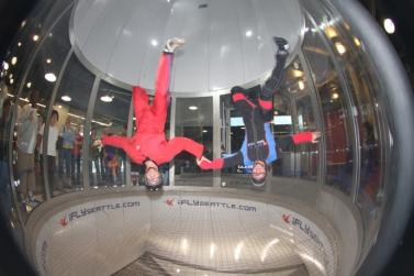 Seattle Southside Rainy Day Activities iFLY Indoor Skydiving
