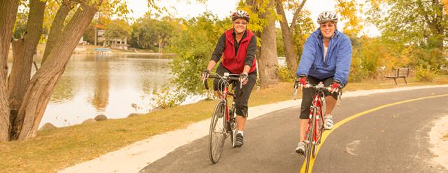 Bikes on the Bike Path