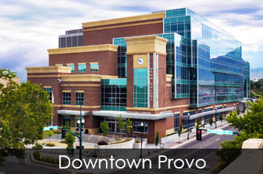 Downtown Provo convention center