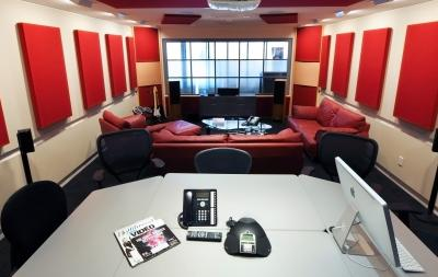 Screening room at Nitrous Ltd.