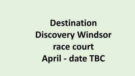 UK Destination Discovery Windson race
