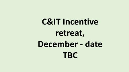 UK C&IT incentive retreat