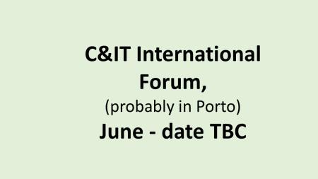 UK C&IT Int forum