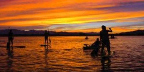 lindon marina sunset