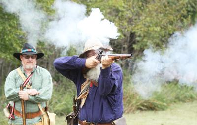 Fall River Rendezvous 2018 Rifle Shot
