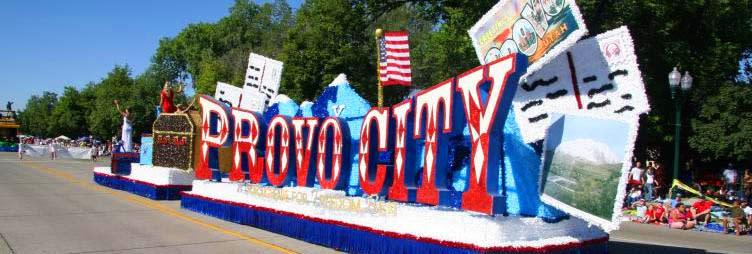 provo city float grand parade