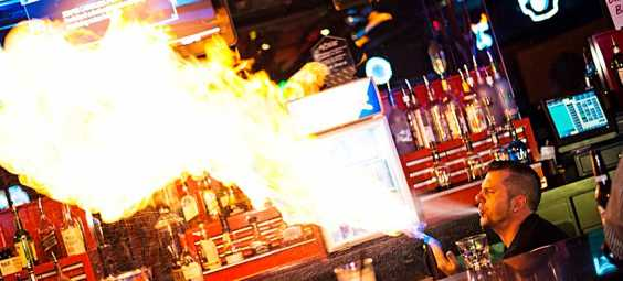 Fuel Bar Fire