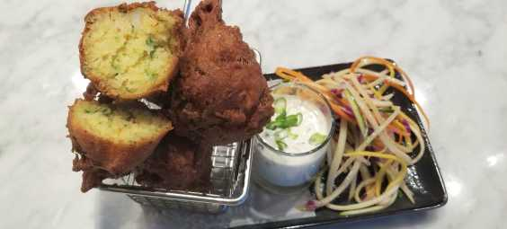 Hushpuppies From The Brass Onion